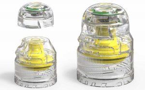 smart cap of water bottle