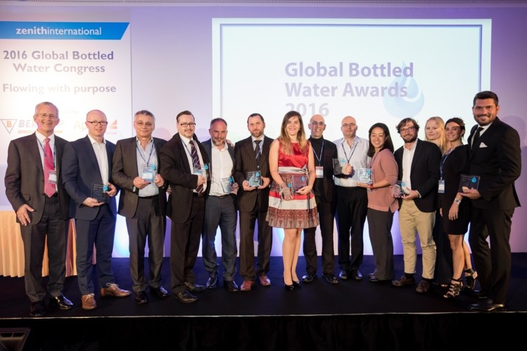 Water.io Wins Best Cap or Closure at the 2016 Global Bottled Water Awards