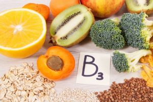 vitamin b3 with fruits