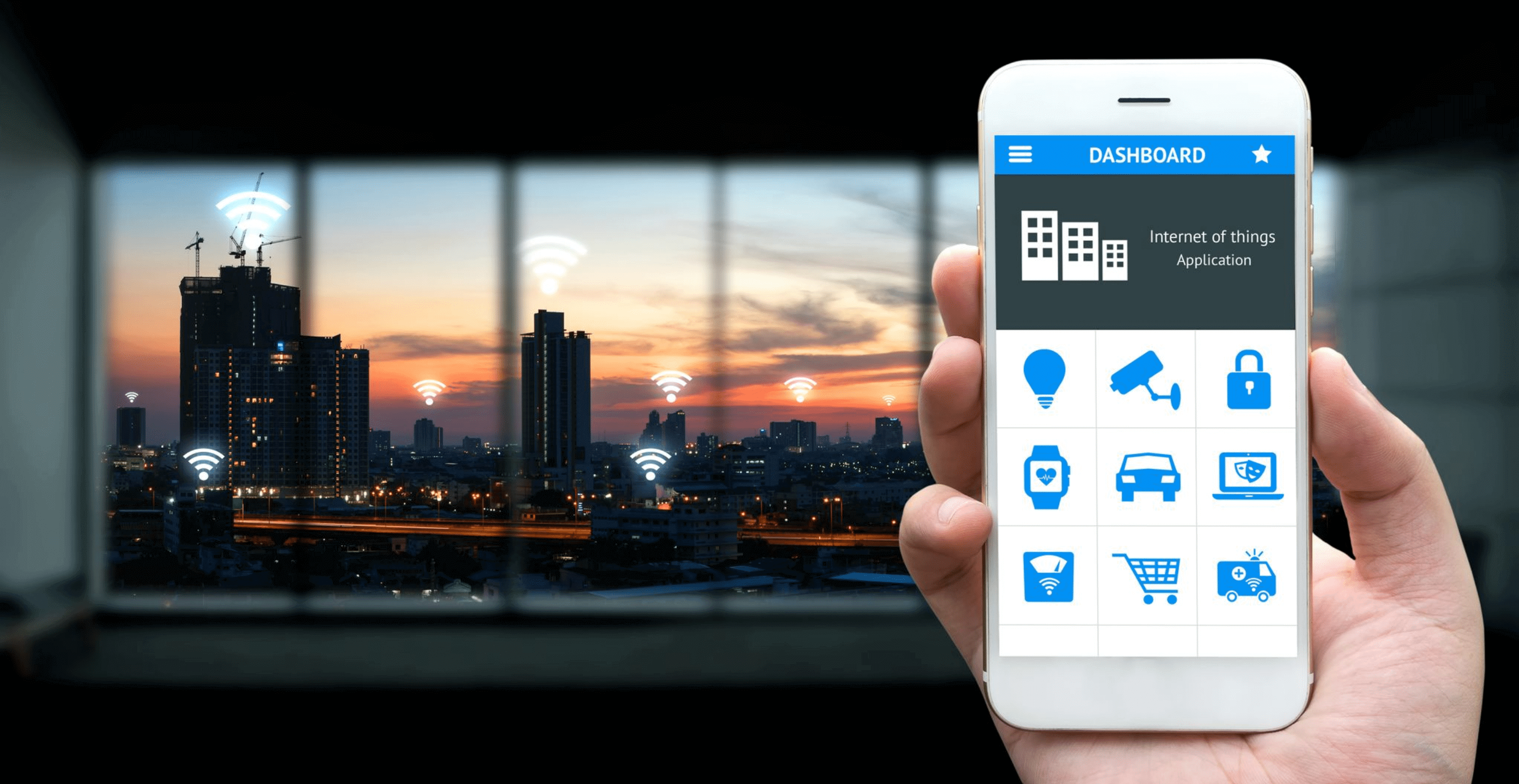 internet of things with mobile app