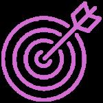 purple arrow & board