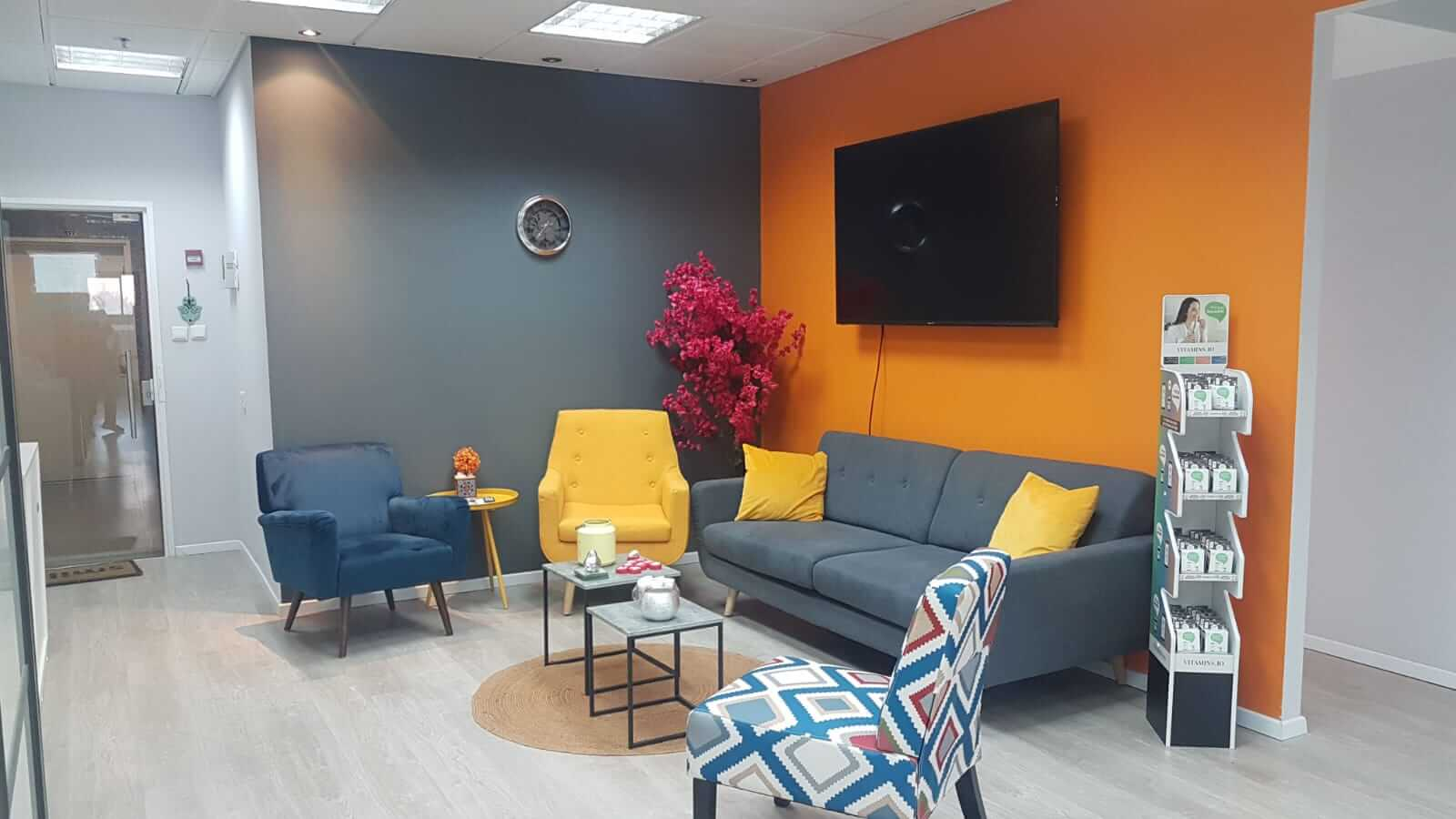 impacx office lounge