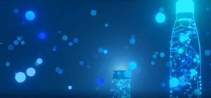 Impacx bottles in lights